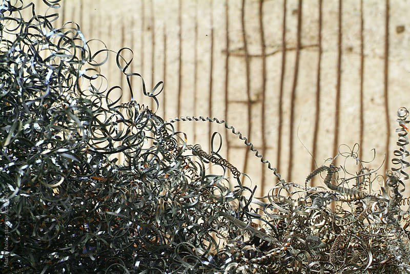 The bunch of metal wire by Marija Anicic for Stocksy United