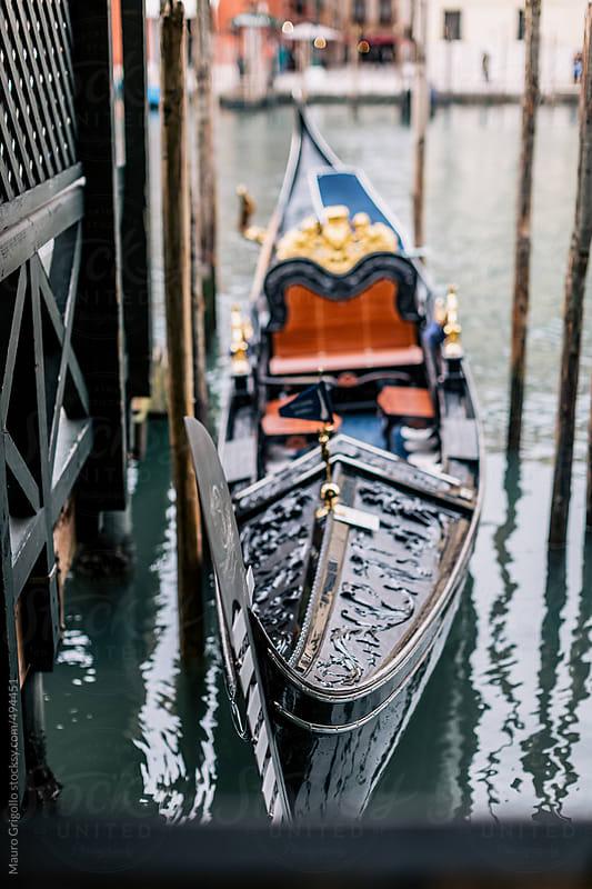 Gondola in Venice, Italy. by Mauro Grigollo for Stocksy United