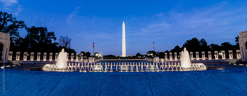 World War II Memorial  by Cameron Whitman for Stocksy United