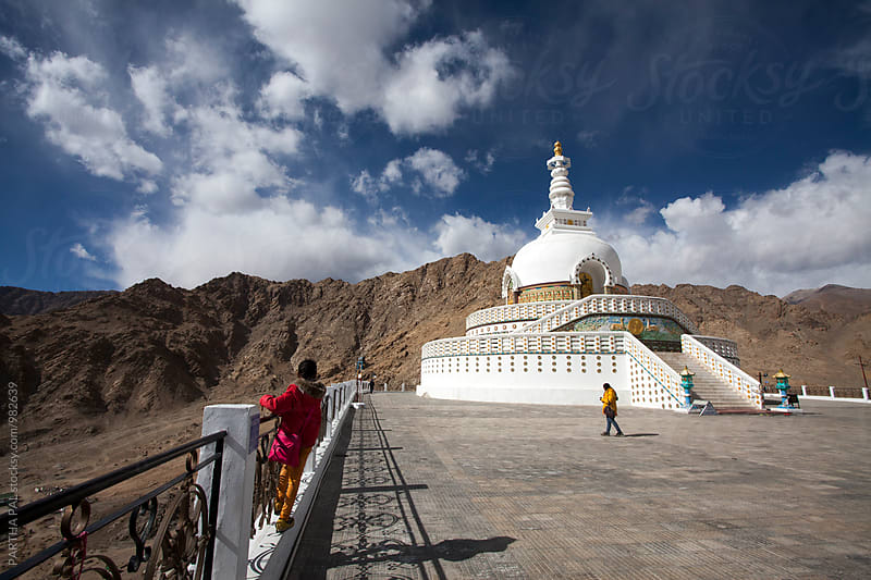 The Stupa in Ladakh by PARTHA PAL for Stocksy United