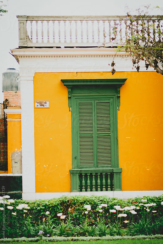 Green Shutters by Jayme Burrows for Stocksy United