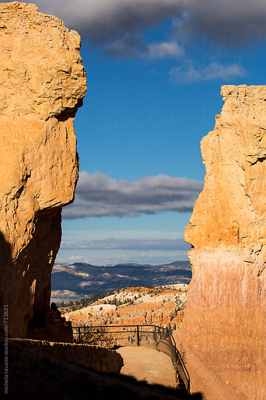 Path in the Bryce Canyon National Park by michela ravasio for Stocksy United