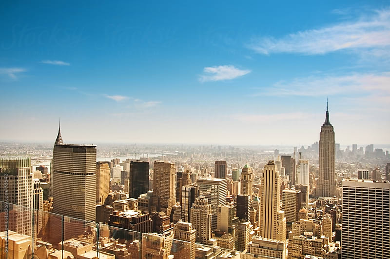 manhattan / new york view by Sonja Lekovic for Stocksy United