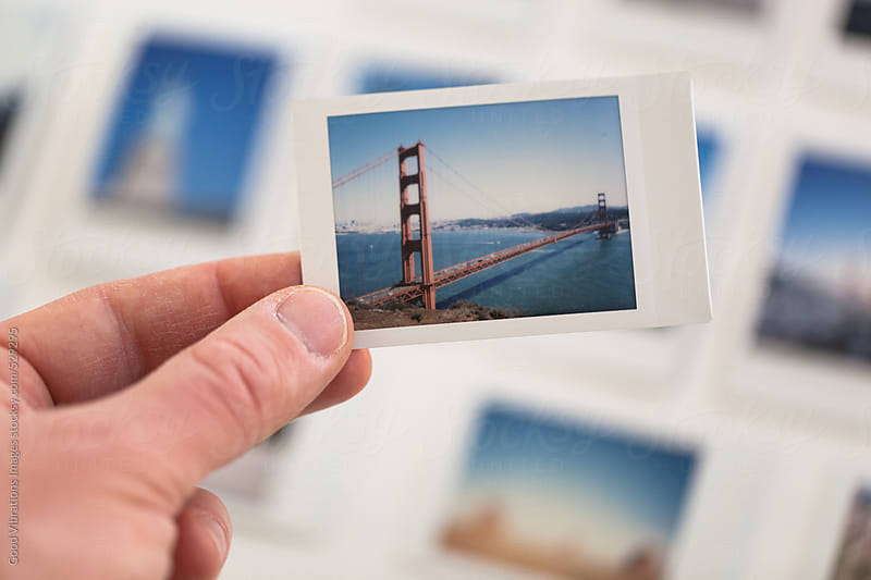 Printed picture of the Golden Gate Bridge by Good Vibrations Images for Stocksy United
