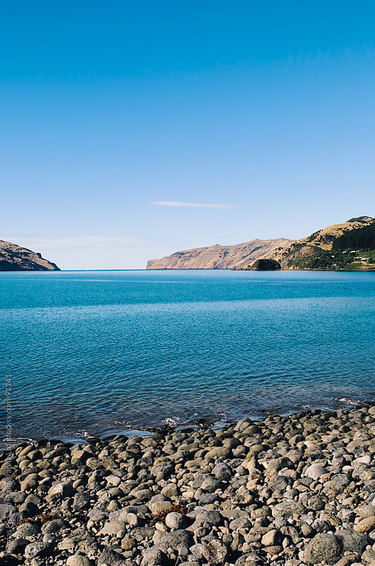 Akaroa Harbour, Banks Peninsula, New Zealand. by Thomas Pickard Photography Ltd. for Stocksy United