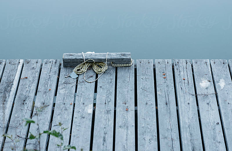 Dock At Dawn by Ronnie Comeau for Stocksy United