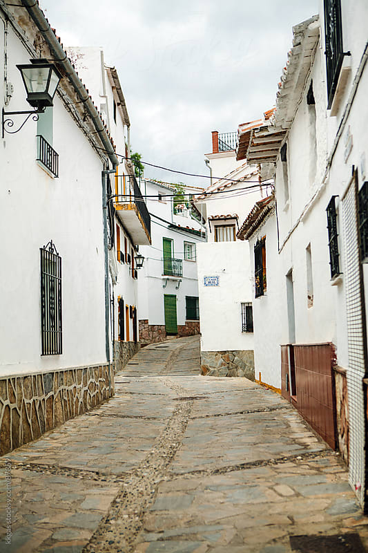 Pueblos Blancos in Andalucia Spain.  by kkgas for Stocksy United
