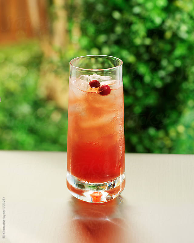 Cranberry Cocktail by Jill Chen for Stocksy United