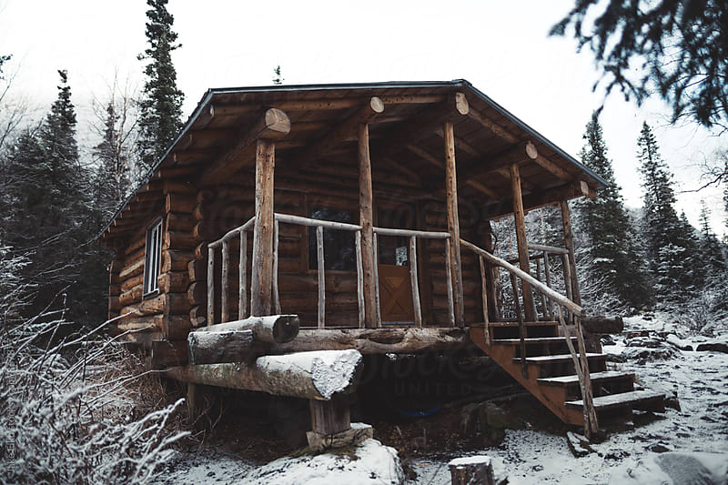 Public Use Cabin Alaska by Jake Elko for Stocksy United