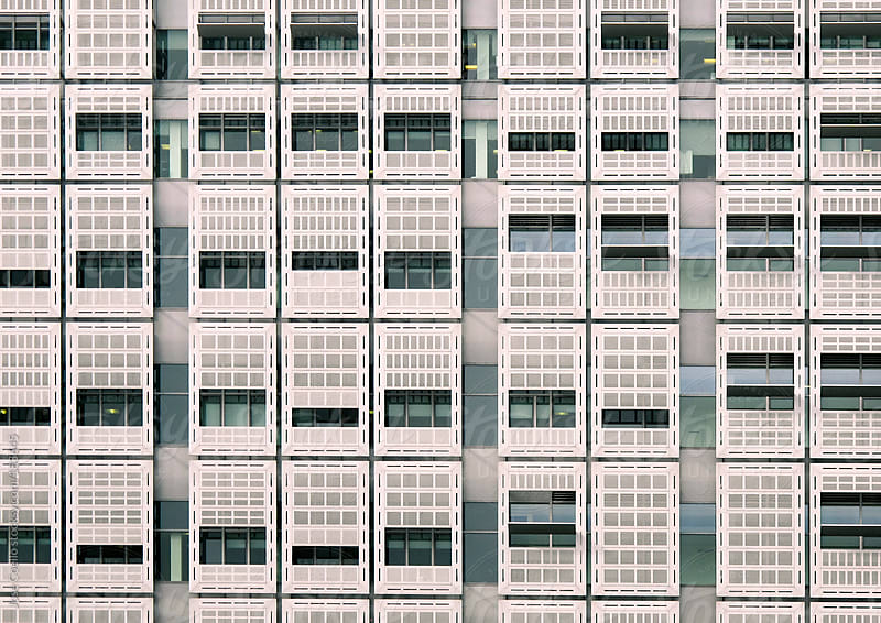 Windows and lines by Jose Coello for Stocksy United