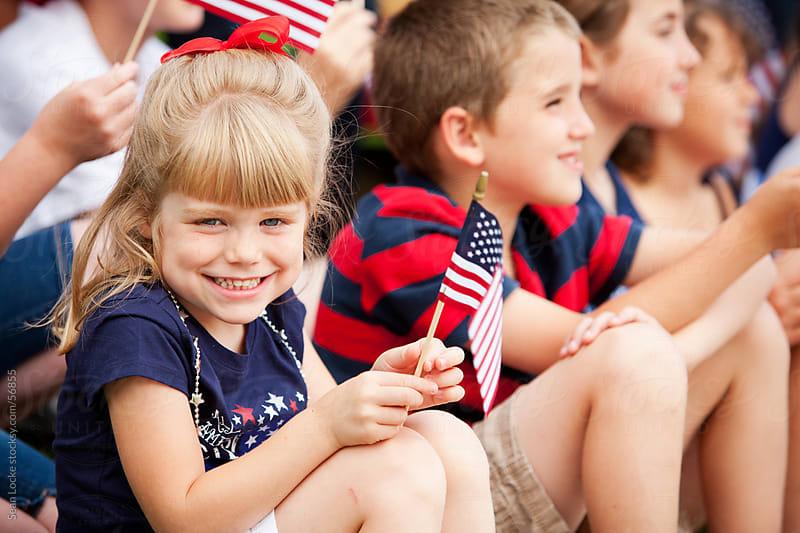 Parade: Cute American Girl by Sean Locke for Stocksy United