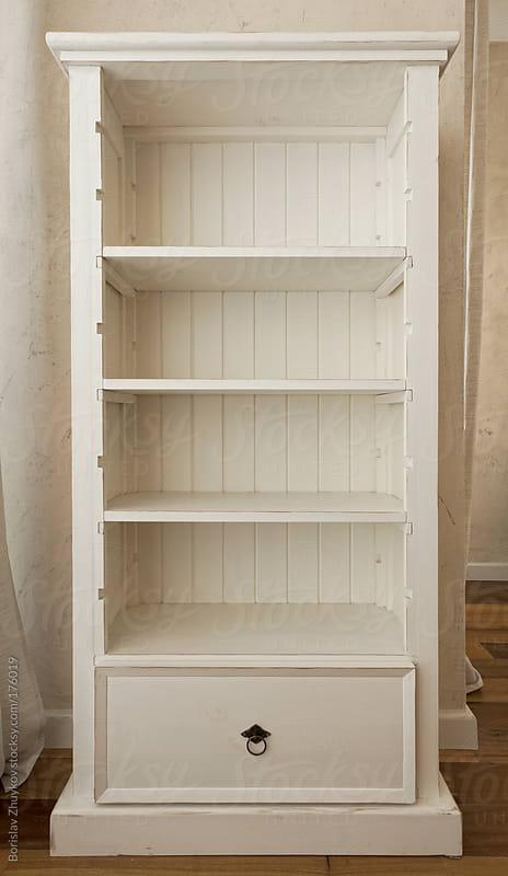Еmpty shelves by Borislav Zhuykov for Stocksy United