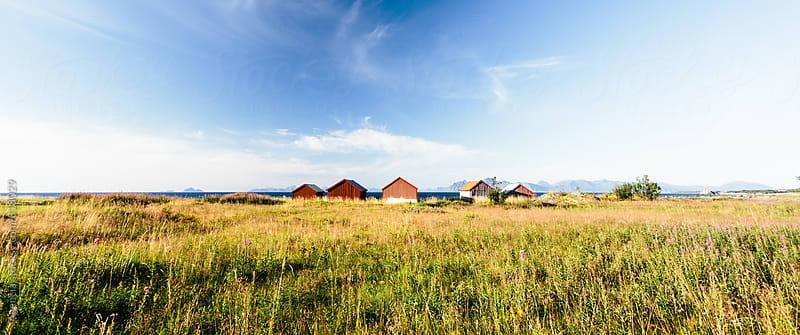 Lofoten Huts by Agencia for Stocksy United