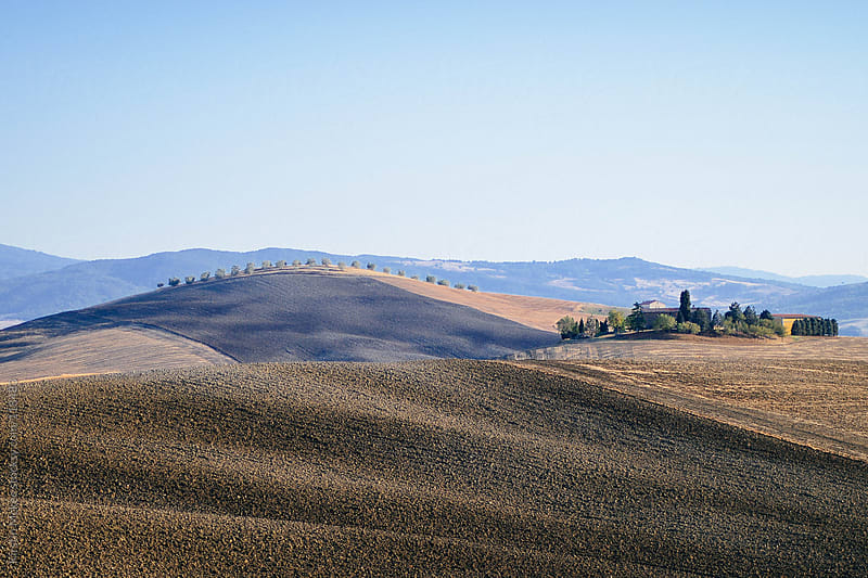 Hills in Val d'Orcia by Kirstin Mckee for Stocksy United
