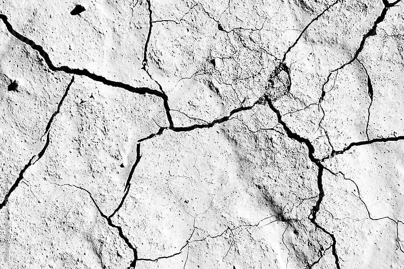 Death Valley cracked mud by Thomas Hawk for Stocksy United