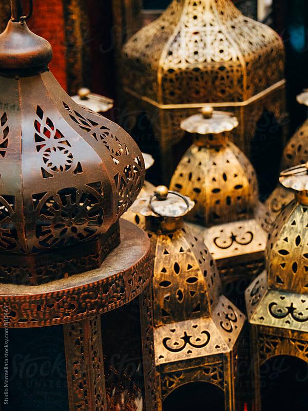 decorative arabian lanterns by Juri Pozzi for Stocksy United