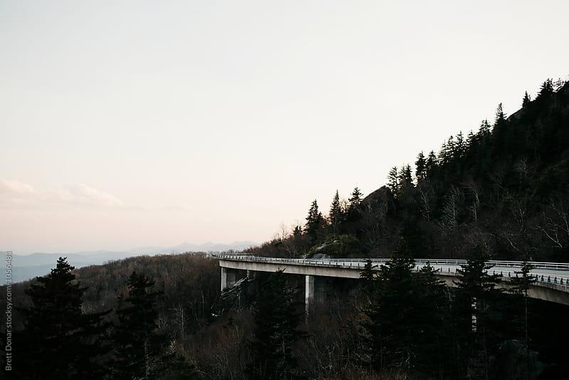 Linn Cove Viaduct by Brett Donar for Stocksy United