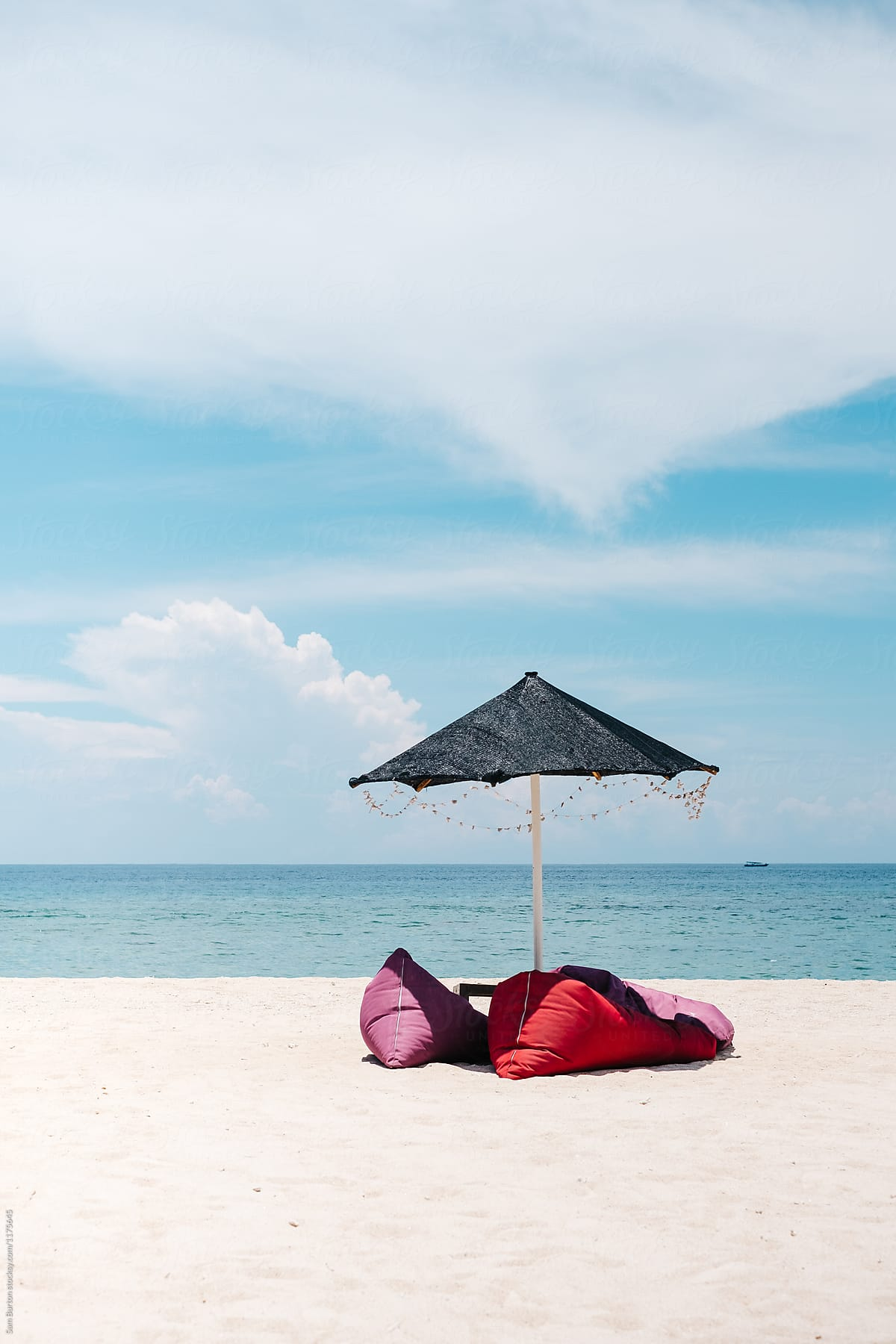 Surprising Beanbag Chairs On The Beach In Indonesia By Sam Burton Squirreltailoven Fun Painted Chair Ideas Images Squirreltailovenorg