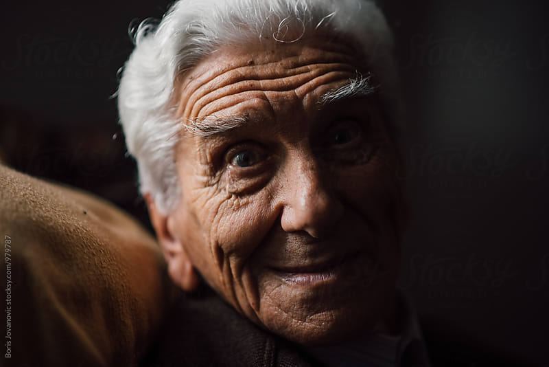 Portrait of senior man  by Boris Jovanovic for Stocksy United