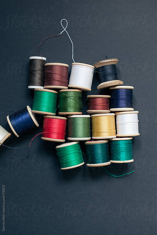 Different color threads. by Darren Muir for Stocksy United