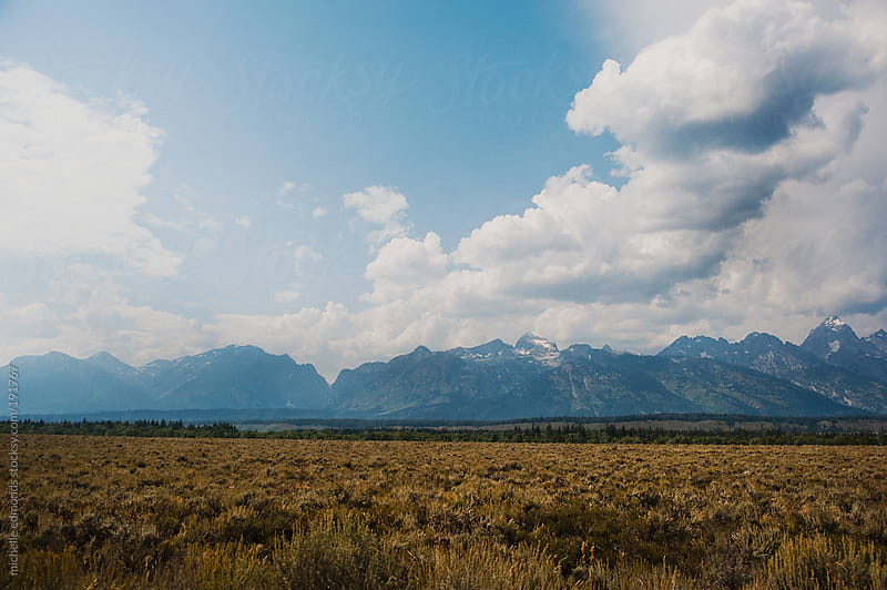Grand Teton Mountains by michelle edmonds for Stocksy United