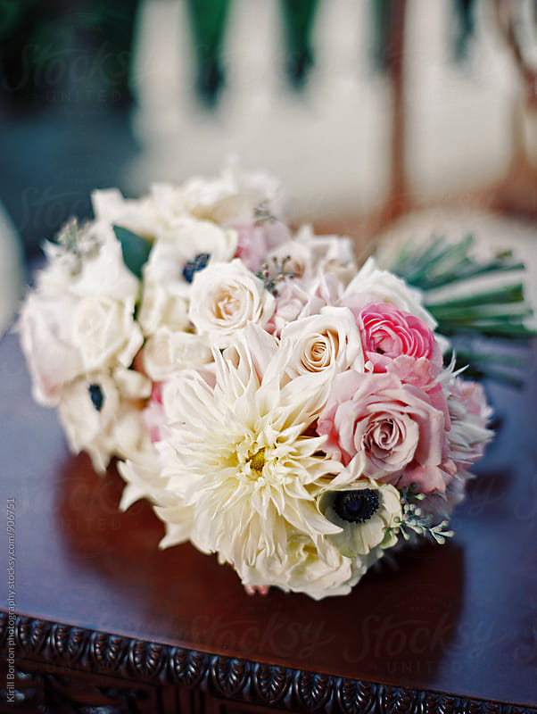bridal bouquet by Kirill Bordon photography for Stocksy United