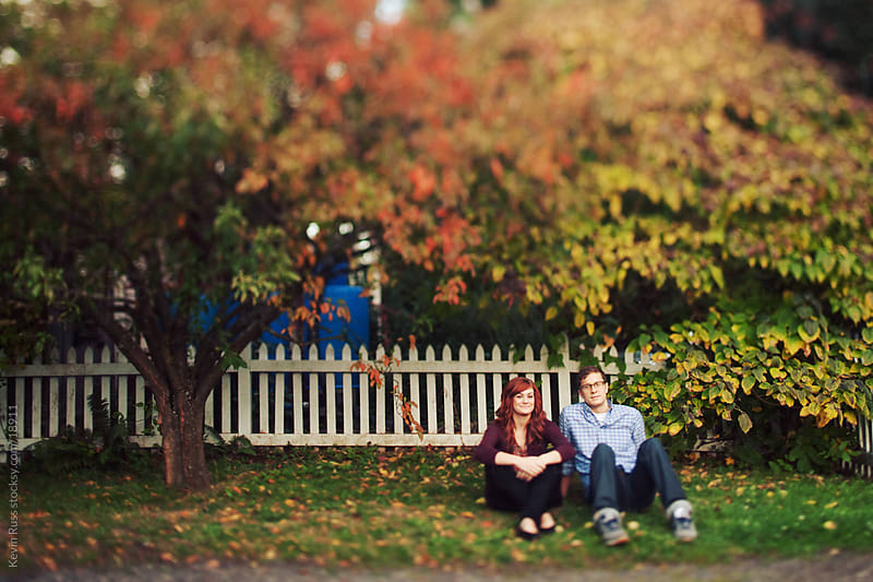 Sitting Fence Friends by Kevin Russ for Stocksy United