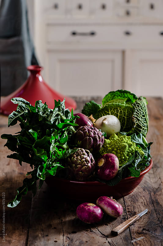 Vegetables composition by Laura Adani for Stocksy United