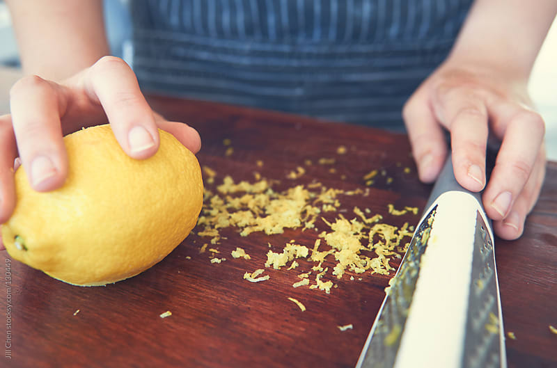 Lemon zest by Jill Chen for Stocksy United
