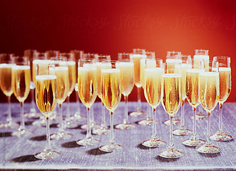 Champagne Grouping by Jill Chen for Stocksy United