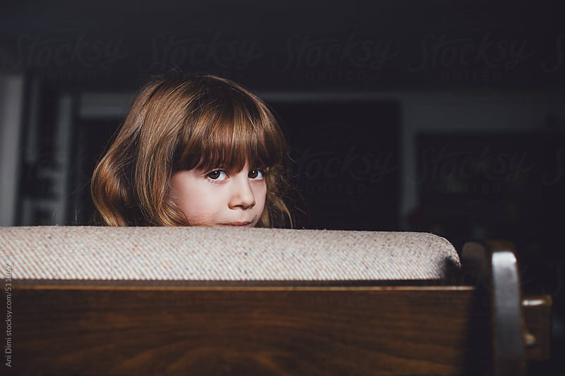 Portrait of a little girl  by Ani Dimi for Stocksy United