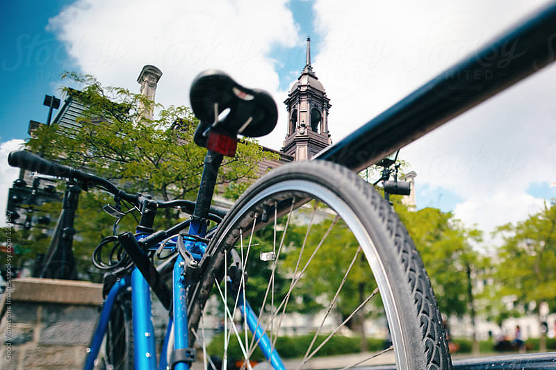 Bicycle in Montreal by Good Vibrations Images for Stocksy United