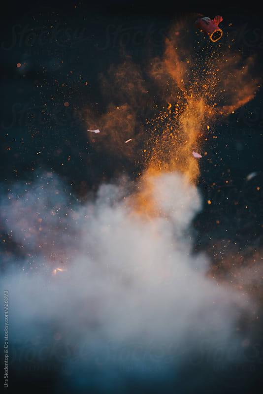 Firecracker bang by Urs Siedentop & Co for Stocksy United