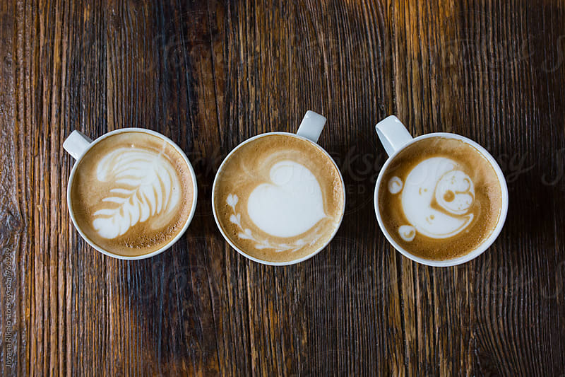 Coffee art by Jovana Rikalo for Stocksy United