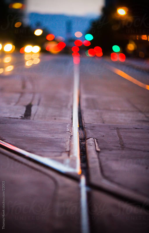 Train Tracks by Thomas Hawk for Stocksy United