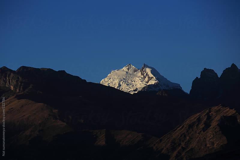 Snow peak  by Nat sumanatemeya for Stocksy United