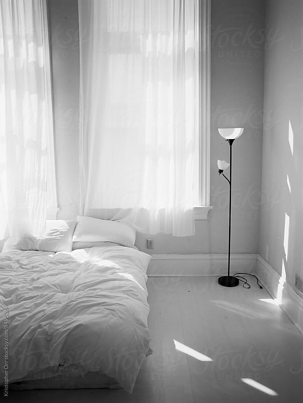 Morning Light in the Bedroom by Kristopher Orr for Stocksy United