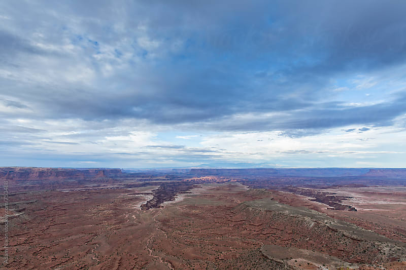 Storm clouds over Canyonlands National Park Utah by Adam Nixon for Stocksy United