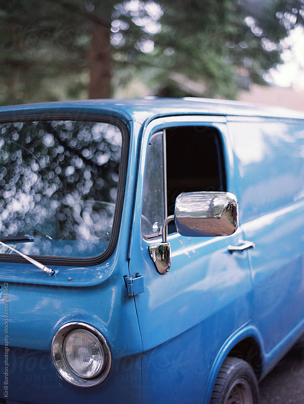 vintage van by Kirill Bordon photography for Stocksy United