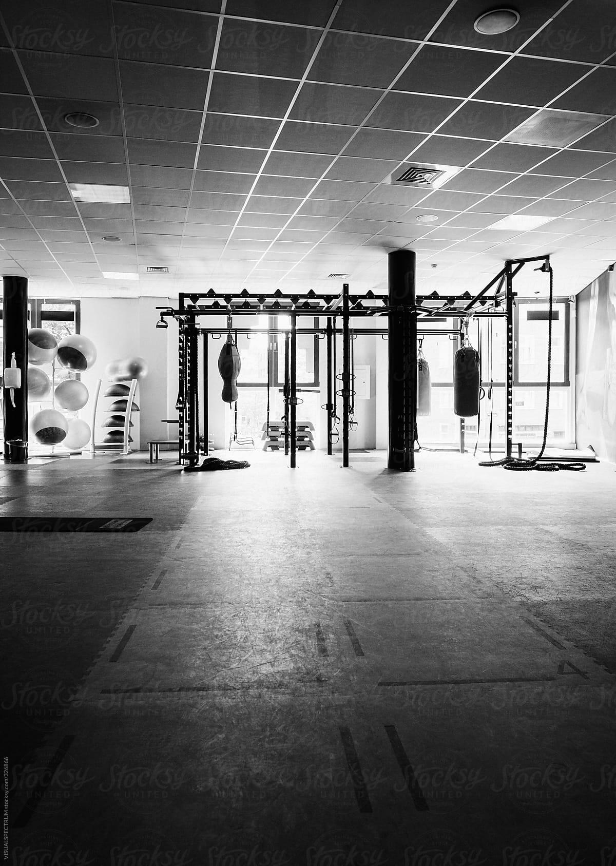 Modern gym room stocksy united