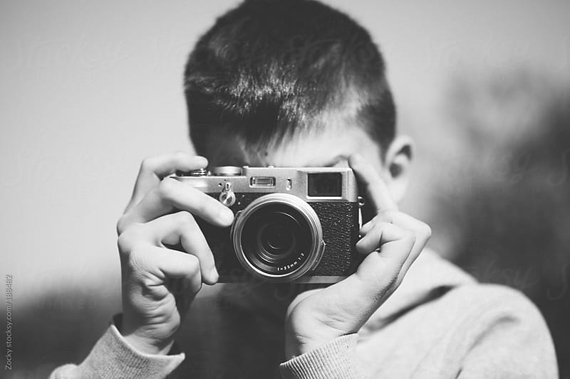 The young photographer by Zocky for Stocksy United