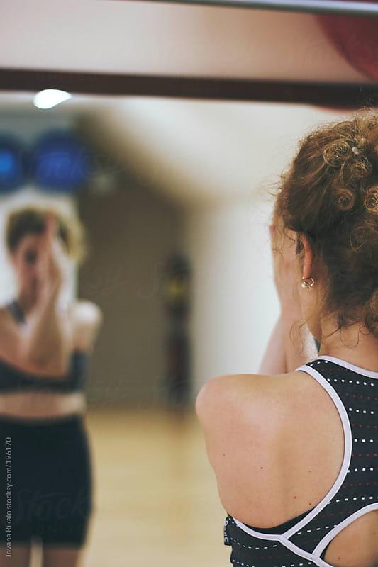 Woman Doing Yoga by Jovana Rikalo for Stocksy United