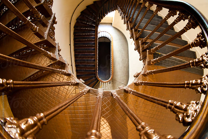 Stairs, Old St. Louis Courthouse by Thomas Hawk for Stocksy United