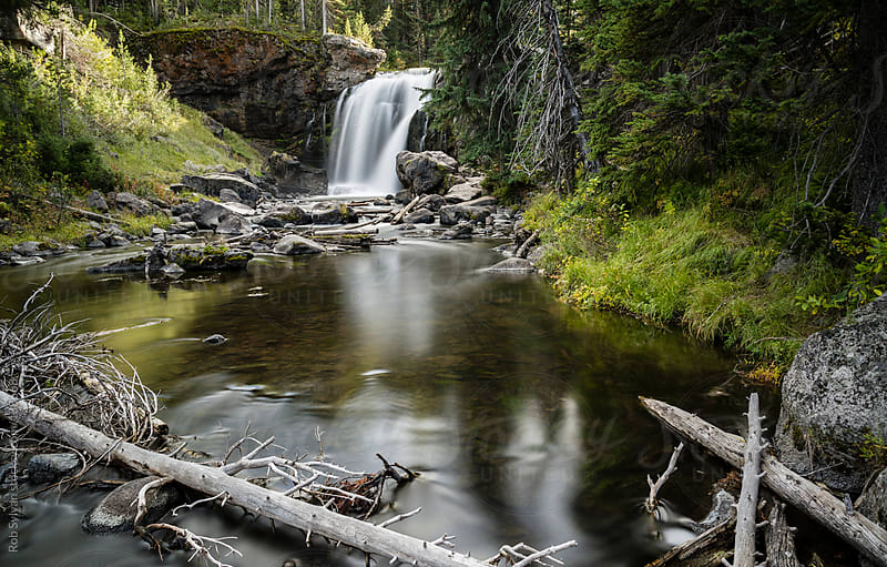 Moose Falls by Rob Sylvan for Stocksy United