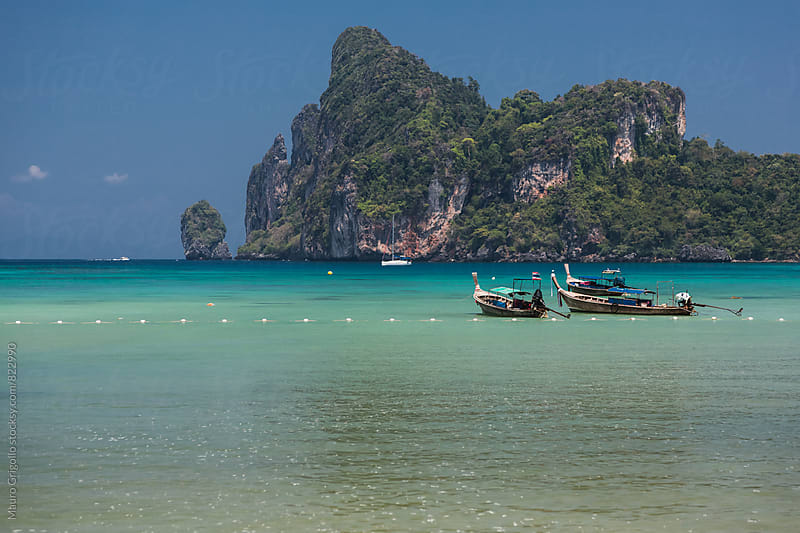 Seascape in Thailand by Mauro Grigollo for Stocksy United