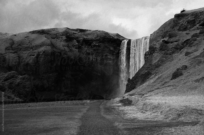 Skógafoss Waterfall, Iceland by Joey Pasco for Stocksy United