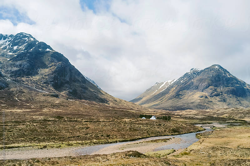 Beautiful landscape of the Scottish Highlands by Ivo de Bruijn for Stocksy United