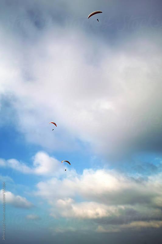 Paragliding by Jelena Jojic Tomic for Stocksy United