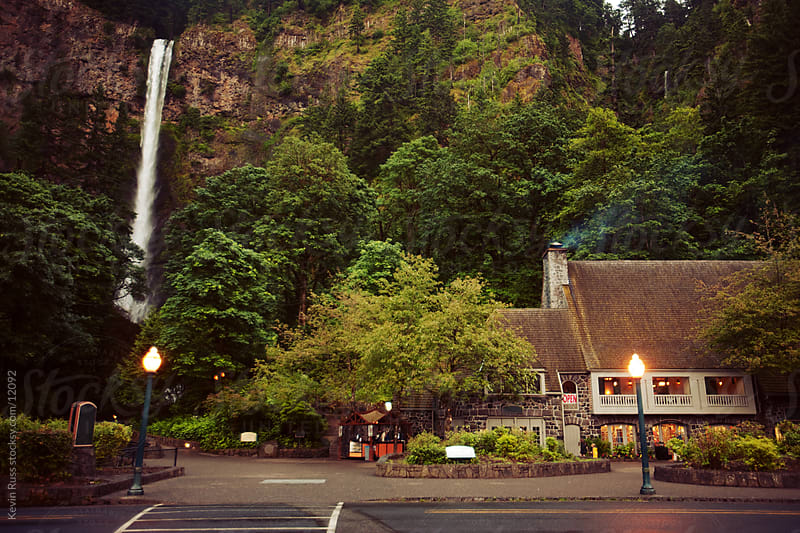 Multnomah Falls by Kevin Russ for Stocksy United