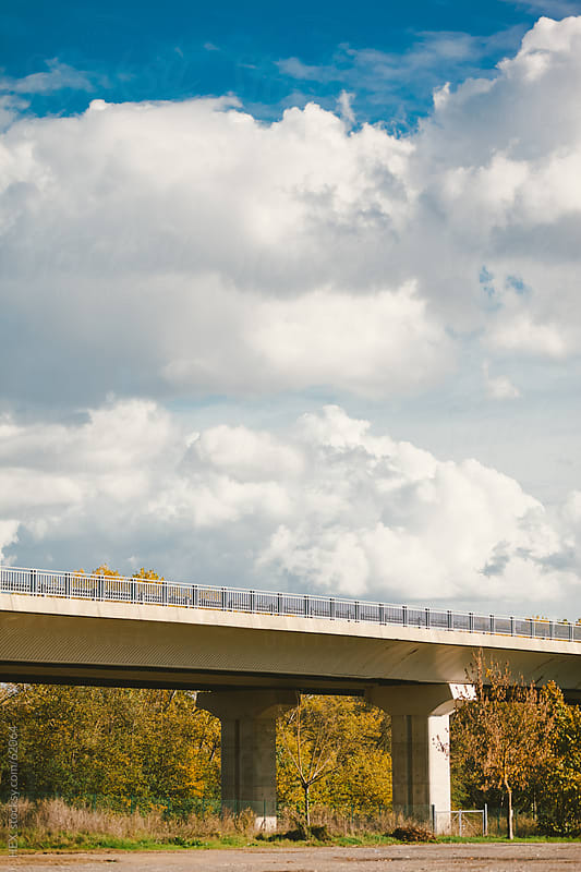 Overpass in Autumn Time by HEX. for Stocksy United